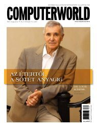 Computerworld magazin 2021.08.24. LII. évfolyam 16. szám