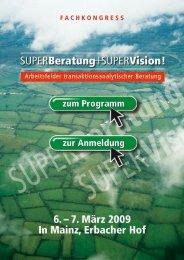 Fachkongress Superberatung + Supervision 2009 - ETT