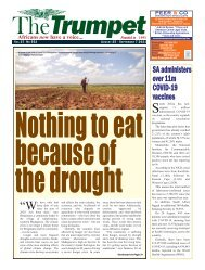 The Trumpet Newspaper Issue 552 (August 25 - September 7 2021)