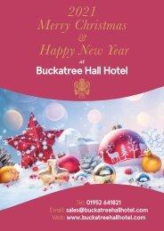 Buckatree Hall Hotel Christmas Brochure 2021 Yumpu