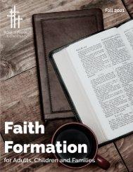 Faith Formation Catalog - Fall 2021 - Word of Peace Lutheran Church