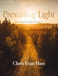 Prevailing Light (Flex Band) - Score