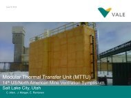 Modular Thermal Transfer Unit (MTTU) - SME
