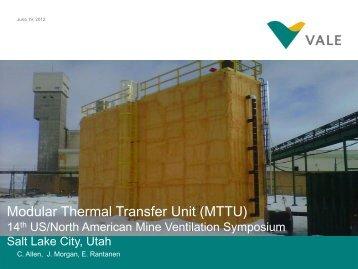 Modular Thermal Transfer Unit (MTTU) - SME