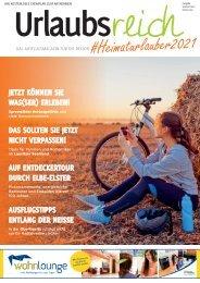Urlaubsreich Heimaturlauber Spätsommer Herbst 2021