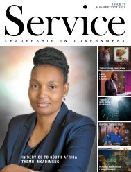 Service - Leadership in Government - Issue 77