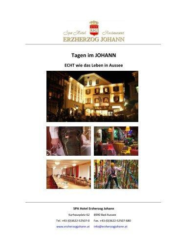 ECHT GUT - Hotel Erzherzog Johann