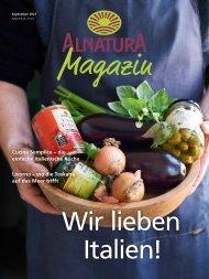 Alnatura Magazin September 2021