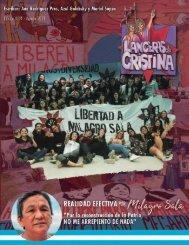 Lanceras de Cristina | Edición Nro. 4 - Agosto 2021