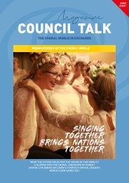 COUNCIL TALK 02/2021 - The digital magazine of the World Choir Council