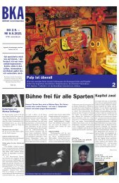 Berner Kulturagenda N°30
