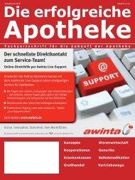 Ausgabe 04.2010 - Die erfolgreiche Apotheke