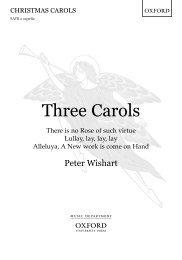 Peter Wishart - Three Carols