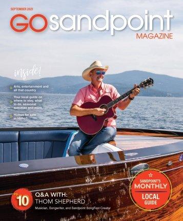 Go Sandpoint September 2021