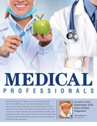 Medical Professionals Stand Alone-September 2021