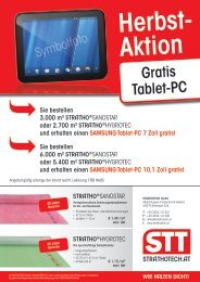 Gratis tablet-Pc - StraTho Tech GmbH