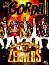 La Gorda Magazine Año 7 Edición Número 79 Septiembre 2021 Portada: Los Zemvers