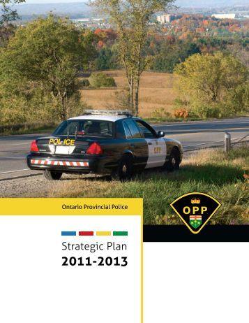 OPP Strategic Plan - Police provinciale de l'Ontario