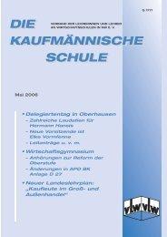 die kaufmännische schule die kaufmännische schule - vLw Stiftung ...
