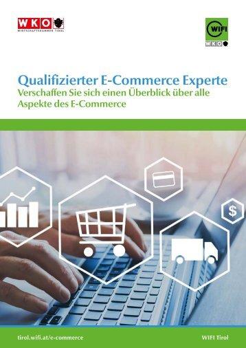 Lehrgang Qualifizierter E-Commerce Experte