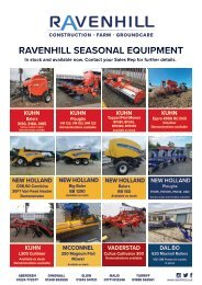 Ravenhill Monthly Featured Machines A4 September 2021