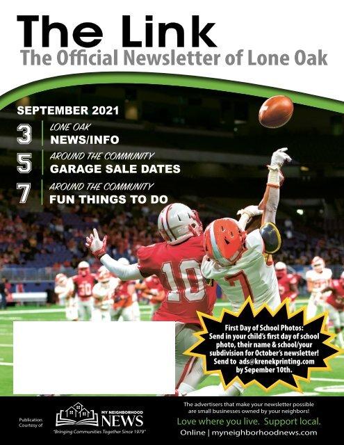 Lone Oak September 2021
