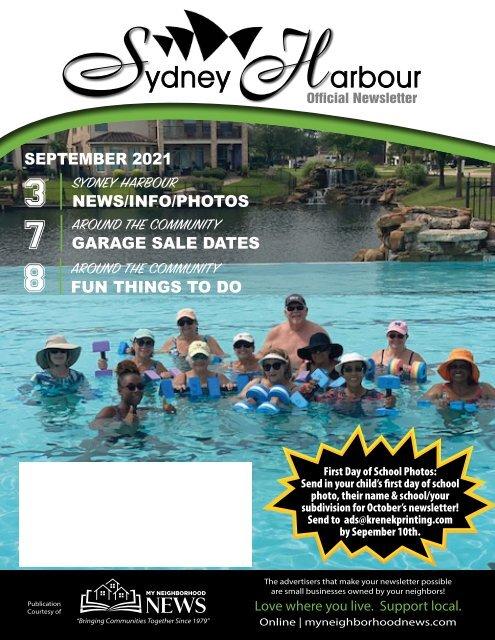 Sydney Harbour September 2021
