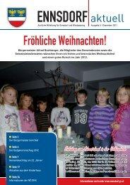 Ich wünsche allen Ennsdorferinnen und Enns - Gemeinde Ennsdorf