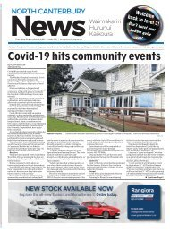 North Canterbury News: September 02, 2021