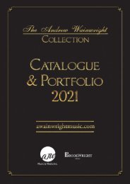 Andrew Wainwright Catalogue & Portfolio