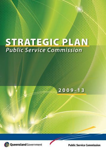 Strategic Plan 2009-13 - Public Service Commission