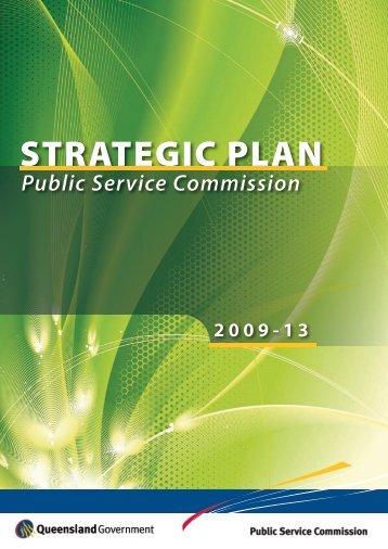 Strategic Plan 2009-13 - Public Service Commission