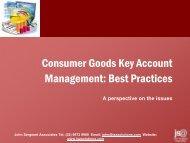 Best Practices in Key Account Management - John Sergeant ...
