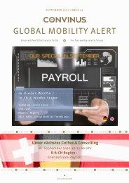 CONVINUS Global Mobility Alert Week 35