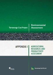 APPENDIX I - Whitehaven Coal
