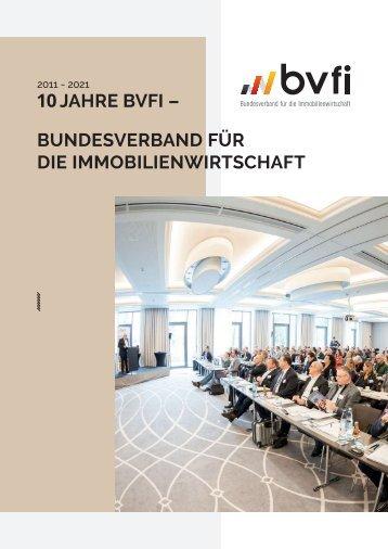 BVFI Magazin Jubiläumsausgabe