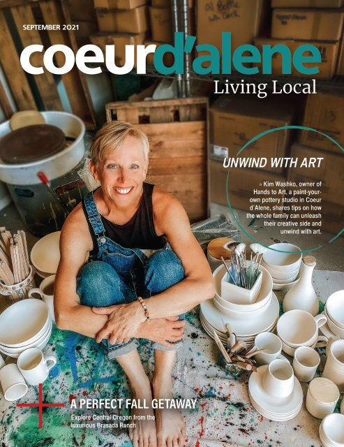Coeur d' Alene Living Local September 2021