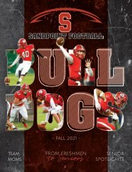 Sandpoint High School 2021Football Guide