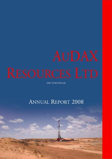 Notes to the Financial Statements - ADX Energy