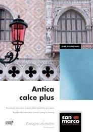 Antica calce plus Emozioni decorative - San Marco Group