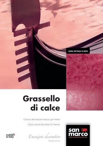 Grassello di calce Emozioni decorative - San Marco Group