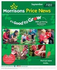 Morrisons Price News - September 2021