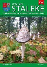 Unter der Staleke 223, Herbst 2021