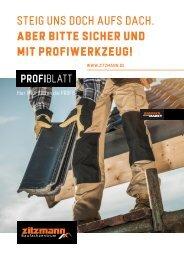 PROFIblatt - Hier PROFItieren die PROFIS! 09-21