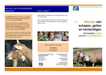 Vervoer van schapen, geiten en hertachtigen - DGZ