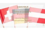 Coffee & Consulting - D-A-CH Region - Grenzenlose Payroll!?