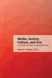 Media, Society, Culture and You, 2018a