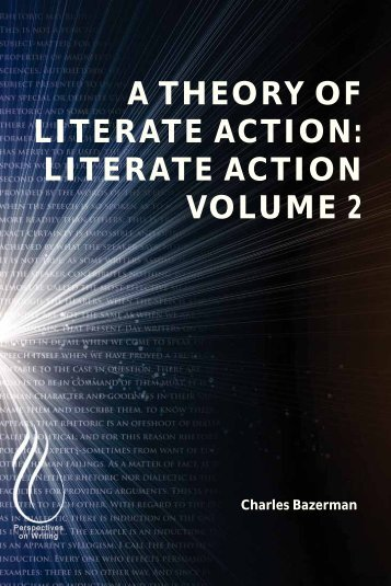 A Theory of Literate Action - Literate Action Volume 2, 2013a