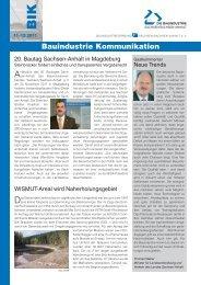 Bauindustrie Kommunikation - Bauindustrieverband Sachsen ...