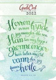 GudsOrd uke for uke 2022